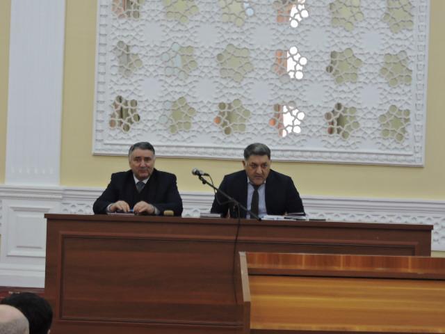 Дар партави Паёми Президенти Ҷумҳурии Тоҷикистон  ба Маҷлиси Олӣ