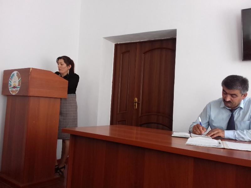 Маҷлиси ситоди ноҳиявӣ оид ба зимистонгузаронии солҳои 2019-2020.